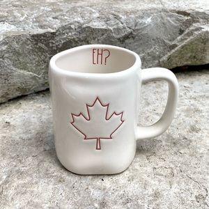 Rae Dunn Maple Leaf Canada Day Ceramic Mug